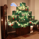 Life-Size Minecraft Christmas Tree